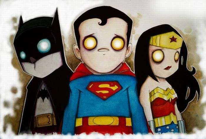 Cute Comic Characters