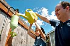 Upside-Down Gardening - Protect Plants from Unwanted Pests and Animals by Turning Them on Their Head