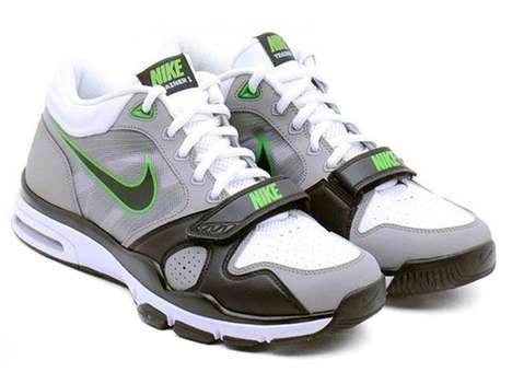 Ultra Secure Sneaks - The New Nike Trainer 1.2 Mid With Gratuitous Velcro Straps