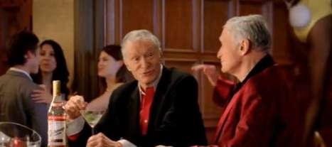Playboy Liquor Spokesmen - Hugh Hefner for Stolichnaya Vodka is a Strange Pairing