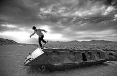 Desert Skateboard Pictorials