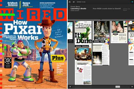 Wired Magazine and iPad