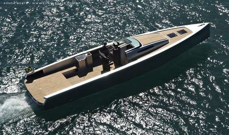 Supercharged Water Rides - The New Zonda 42 Power Boat is a Supercar for the High Seas