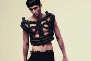 The Avant-Garde Teuku Ajie 'Les Arbres' Shoot for Ribbed Magazine