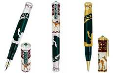 Marco Polo Pens - The Limited Edition Omas Fountain Pens Are Inspired By The Desert