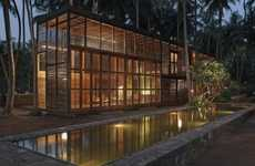 Nature-Focused Getaway Homes - The Palmyra House by Studio Mumbai Architects is Green & Stylish