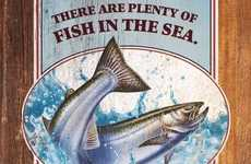 Fishy Mantra Ads - The Legal Sea Foods Print Campaign Pokes Fun at Old Adages