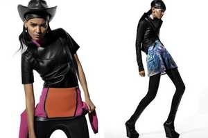 Liya Kebede in I-D Summer 2010 Wears Ultra-Glam Ensembles