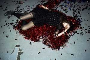 The Meadham Kirchhoff and Topshop 2010/2011 Collection Glitters