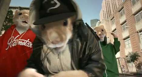 Kia Soul Rapping Hamsters