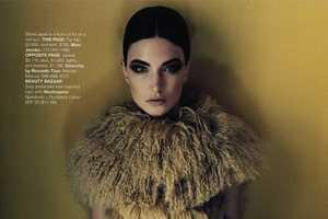 'What's Next' in Harper's Bazaar June 2010 Shows Tailored Fashions for Fall