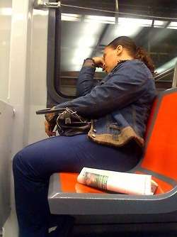 Passed Out On Public Transit