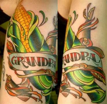 Vegetable Tattoos