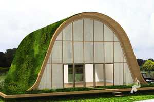 La Maison-Vague by Patrick Nadeau is a Green Affordable Housing Project