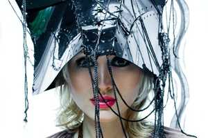'Maria' by Krasimir Marchev Shows Off Avant-Garde Headdresses