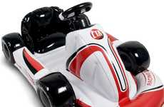Blow-Up Gamer Gear - CTA Digital Inflatable Racing Kart for Wii Lets You Race Mario in Style