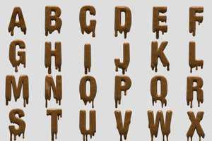 Handmade Font Creates Object-Inspired Fonts
