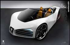 Tryke Eco Cars - Look Uber Cool in the 'Peugeot Velocite' Eco Concept Car