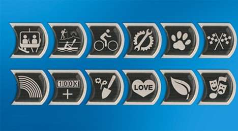Automobile Merit Badges - The Subaru Badge of Ownership Lets You Show off Your Subaru