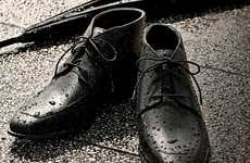 Storm-Safe Dress Shoes - These Waterproof GQ Japan Cole Haan 'Air Jaydens' Keep you Dry and Fly