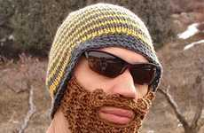 The Beard Beanie is the Weirdest Way to Keep Your Face Warm