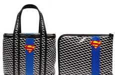 Superhero Handbags - The Pierre Hardy Superman Bags Would Look Great on Lois Lane