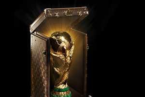 Louis Vuitton Reveals FIFA World Cup Trophy Case