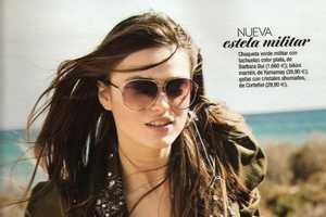 Sophia Vlaming in Glamour Spain June 2010 Has a Badass Attitude