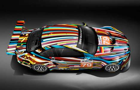jeff koons bmw art car