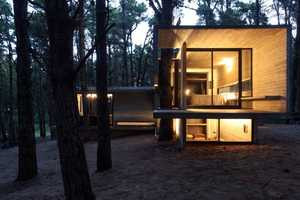 The JD House by BAK Architects Has an Open Wood Concept
