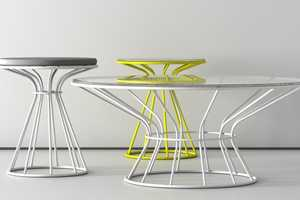 The Sirio Tables by DZstudio Make for Funky Furniture