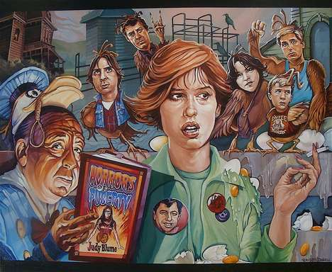 Acrylic paintings by David MacDowell