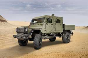 Mercedes Armored Vehicles Could Be Coming to a Battlefield Soon
