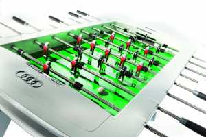 The Audi Foosball Table is the Next Best Thing to Owning an R8
