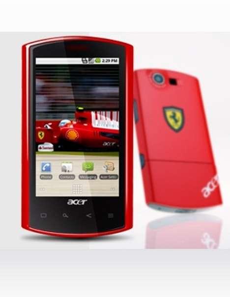 Supercar Smartphones - The Acer Liquid E Ferrari Edition is Sexy and Smart