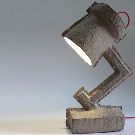 Egg Carton Lamps - The Trash Me Lamp by Victor Vetterlein is as Green as it Gets