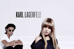 The Karl Lagerfeld SS 2010 Ad Campaign Loves the Little Black Dress