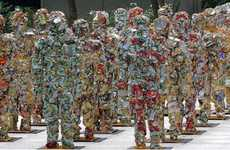 Garbage Armies - Ha Schult's Trash People Remind Us All of Our Refuse