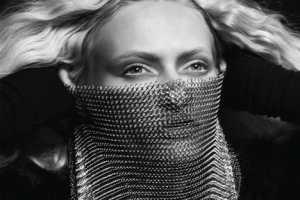 Black #12 Mixes Ethereal & Glamorous Style