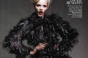 'The Season's Riches' in Harper's Bazaar Shows Off F
