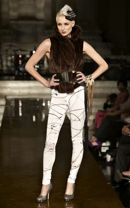 Edgy Runway Fashion