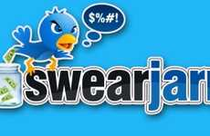 Online Swearing Punishments - SwearJarr Tracks Cursing on Twitter