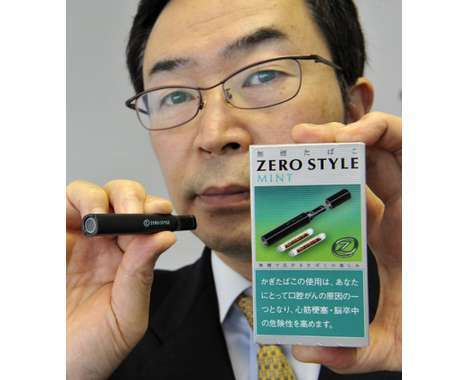 smokeless cigarette innovations