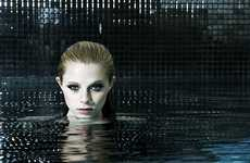 Couture Mermaids - 'Submerge' by Soon Tong for Amica Singapore June 2010 Heads Underwater