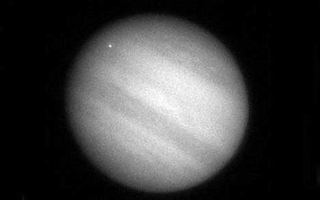 collision on jupiter