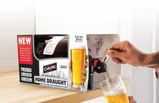 Portable Mini-Kegs - Home Draught Lets You Pour Your Favorite Pint Straight From the Fridge