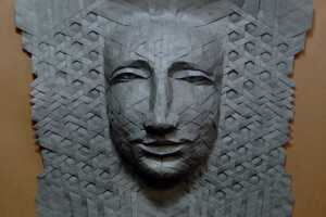 Joel Cooper Makes Paper Look Like Stones for her Creative Sculptures