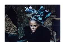 Gritty Grunge Couture - The Vogue Italia Spread Gets Down and Dirty