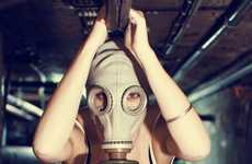 Sultry Gas Masks - Basement From Joao Unzer Makes Chemical Warfare Sexy