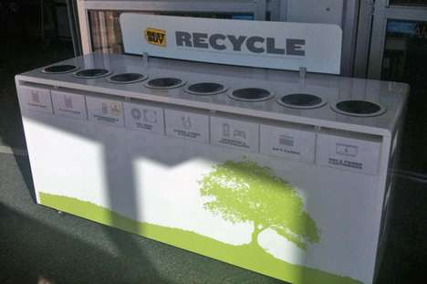 The Best Buy Recycling Bin Takes Part in Helping the Environment